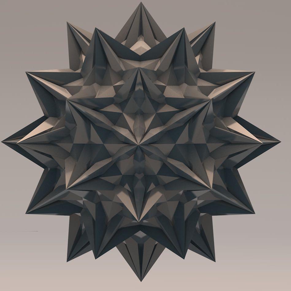 #polyhedron #c4d #everydays