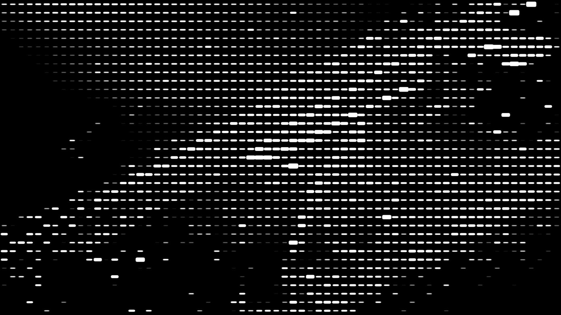 halftone particles experiments